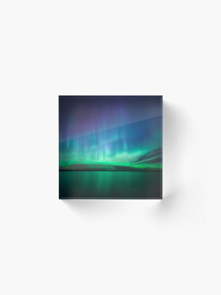Alternative Ansicht von Schöne Nordlichter Acrylblock