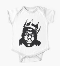 Body de manga corta Biggie Smalls Shirt