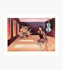 Recording Studio Art Print