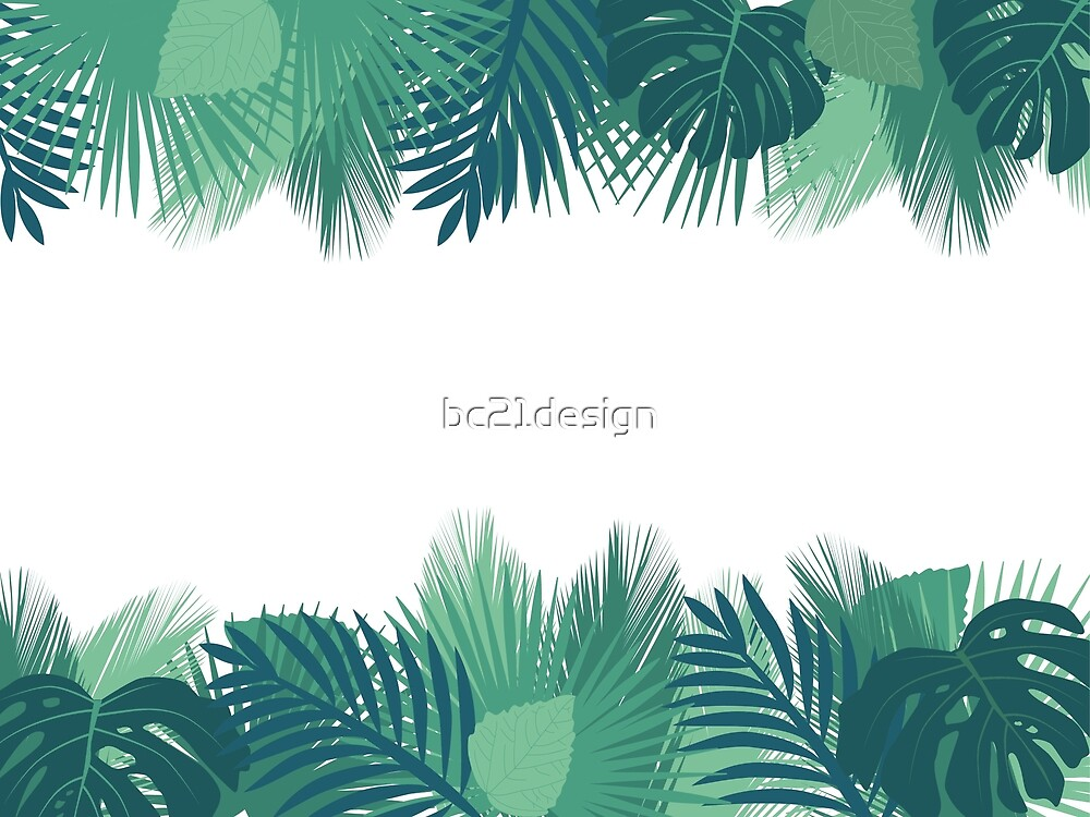 tropical leafs by bc21design