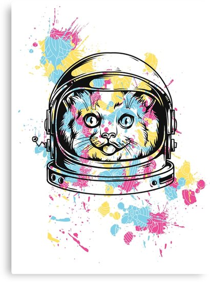 Space Cat by traumfaenger