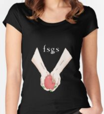 FSGS at twilight Women's Fitted Scoop T-Shirt