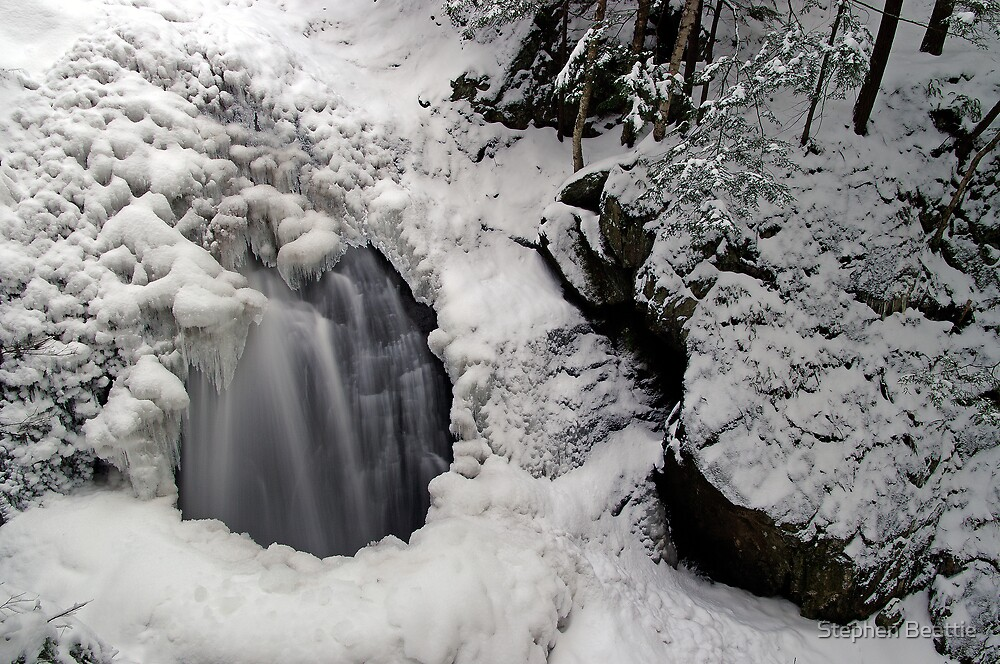 Icy Falls and Gorge by Stephen Beattie