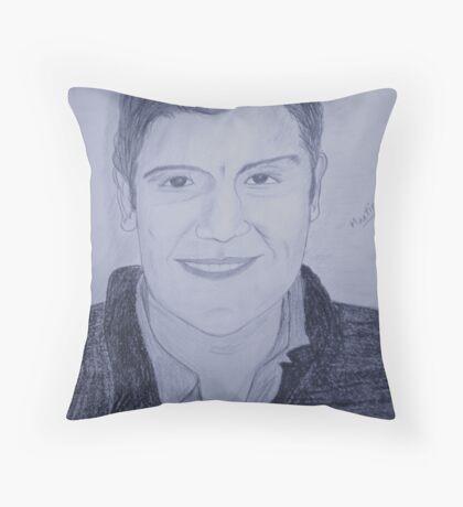 Portrait of Martin Throw Pillow