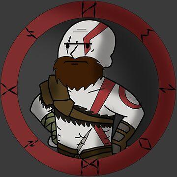 Kratos Boy by 3cod3