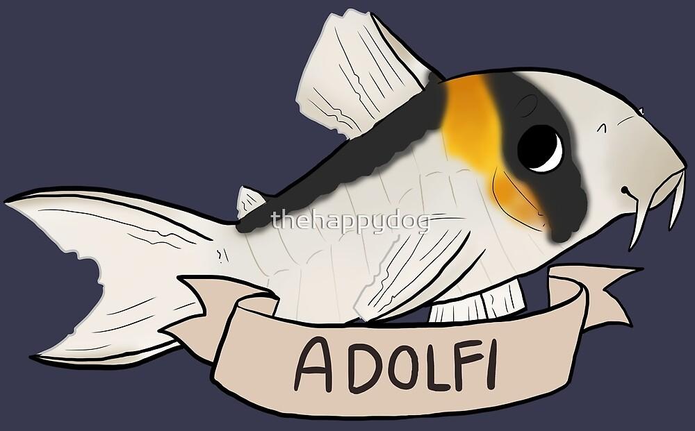 Corydoras Adolfi (Common) by Pinto Sketches