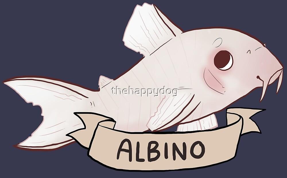 Albino Corydoras by Pinto Sketches