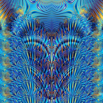 Blue and Orange - Part5 by fractalexperience