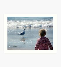 I see the ocean... Art Print