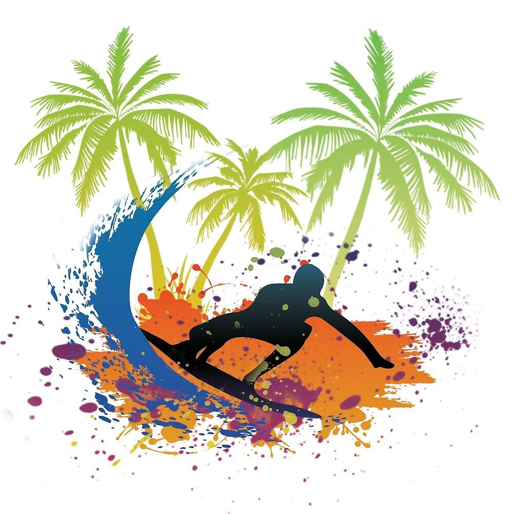 Surf in Summer by phils-designes