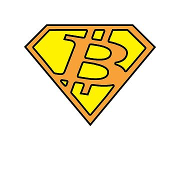 Bitcoin Super Hero by six8seven