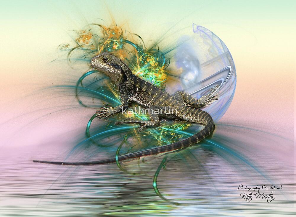 Bearded Dragon 1 by kathmartin
