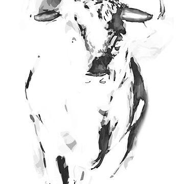 Bull Shirt by Abili-Tees
