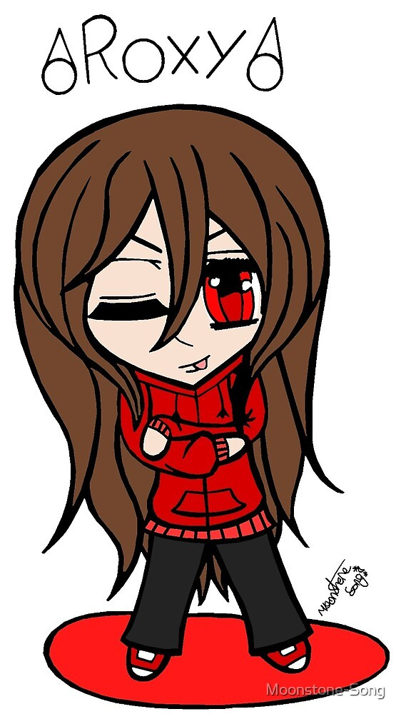 season 1 Roxanne Song chibi (colour) by Moonstone-Song