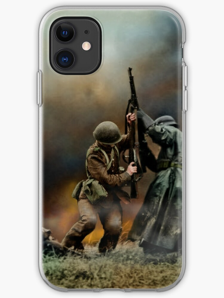 Close Combat iphone case