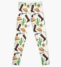 Western pattern Leggings