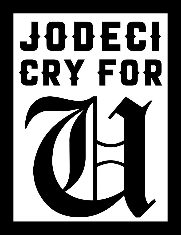Jodeci Cry For U by redbubblejo