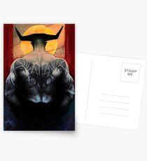 Widder Iron Bull Tarot Tierkreis-Karte Postkarten