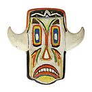 Grinning ritual mask by siloto