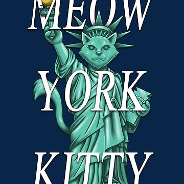 Meow York Kitty by c0y0te7