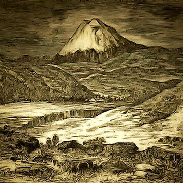 Cotopaxi an active stratovolcano in the Andes Mountains, Ecuador by ZipaC