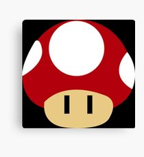 Mario Mushroom  Canvas Print