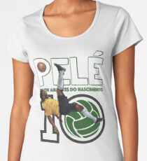 Pele - Legend Women's Premium T-Shirt