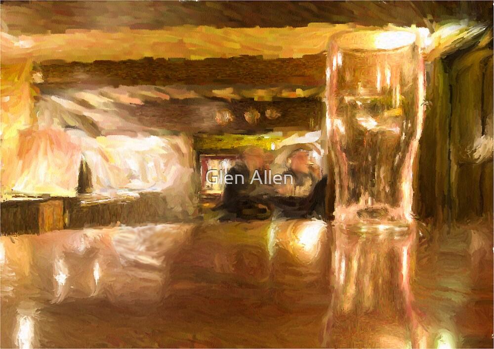 Pint Glass by Glen Allen