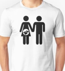 Couple pregnant baby Unisex T-Shirt