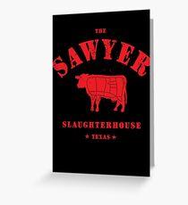 Sawyer Slaughterhouse Greeting Card
