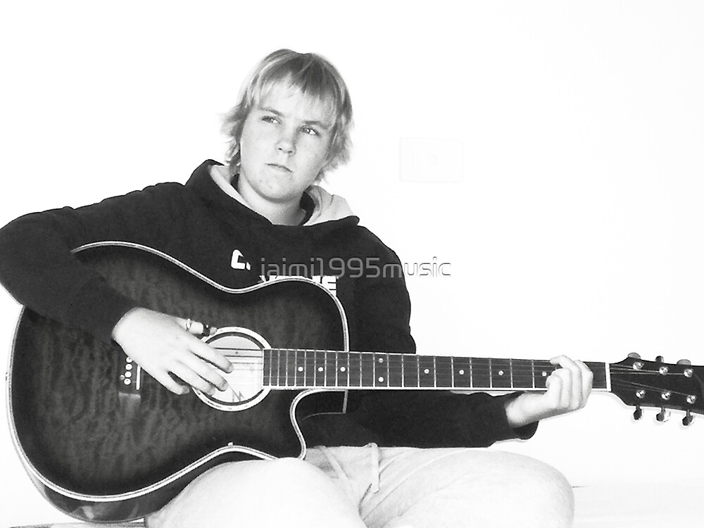 Lonely Guitarist by jaimi1995music