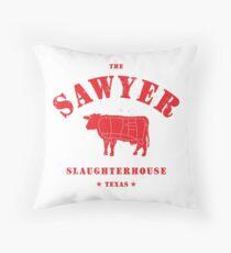 Sawyer Slaughterhouse Throw Pillow