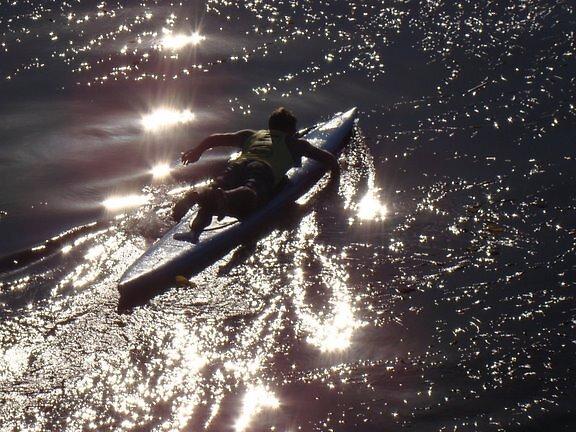 Paddling by threelittlefish