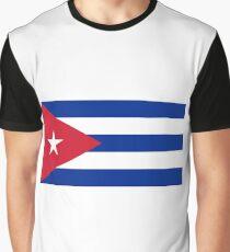Cuban Flag Graphic T-Shirt
