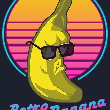 Retro Banana by realmatdesign