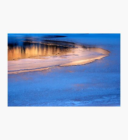 Icy Reflections Photographic Print