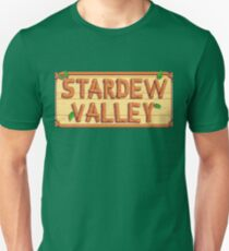 Stardew Valley - wooden logo Unisex T-Shirt