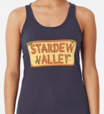 Stardew Valley - wooden logo Women's Tank Top