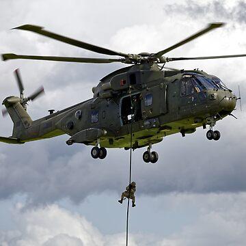 AgustaWestland Merlin HC.3 by AndyHkr