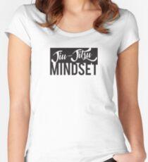 Jiu-Jitsu Mindset Women's Fitted Scoop T-Shirt