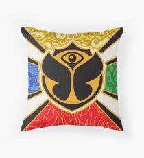 Tomorrowland flag Throw Pillow