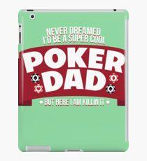 mens funny poker shirt 01 iPad Case/Skin