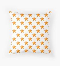 The Chocolate Starfish Throw Pillow