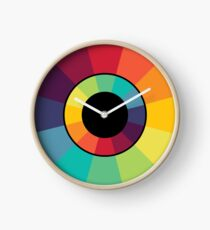 Complementary Colour Wheel Clock