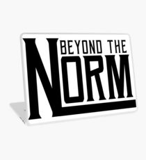 Beyond The Norm - Black Laptop Skin
