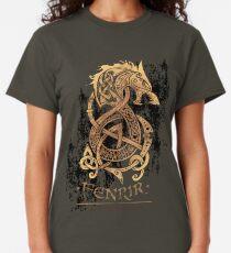 Camiseta clásica Fenrir: El lobo del monstruo nórdico