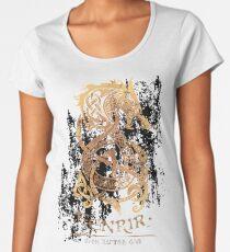 Fenrir: The Nordic Monster Wolf Women's Premium T-Shirt