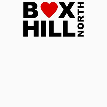 I Love Box Hill North by BrettJohnson