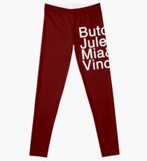 Pulp Fiction Helvetica Leggings