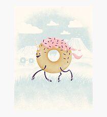 Mr. Sprinkles (Pink Frosting) Photographic Print